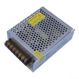 FL-PS SLV12040 Pout= 40Вт, Uout=12В, Uin=175-240В, IP20, 85x58x33мм, 130г - метал. трансформатор