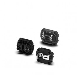 83285 VS для 83000 Е27 безвинтовые зажимы чёрный