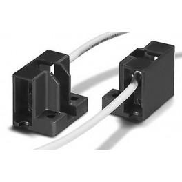 31662 VS R7S LAMPHOLDER (PPS) 5 kV - держатель для ламп вывод провода справа