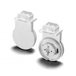84172 VS Патрон G13 IP65 одинар поворотн вставн для металла защелки белый система 163