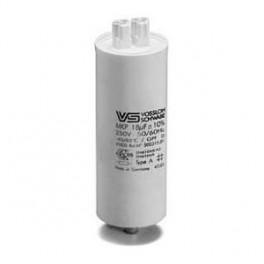 WTB 18 мкФ ±5% 250V d35 l95 M8x10 (Пласт. корпус/Wago/-40C...+85C) Конденсатор (для ДНат150)