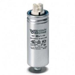 WTB 30 мкФ ±5% 250V d40 l95 M8x10 (Пласт. корпус/Wago/-40C...+85C) Конденсатор
