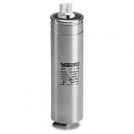 WTB100 мкФ ±5% 250V d55 l148 M10x16 (Алюм. корпус/Wago/-25С...+70C) Конденсатор