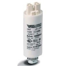 WTB 7 мкФ ±5% 250V d30 l70 -40* +85* M8x12 пластиковый корпус Wago Конденсатор