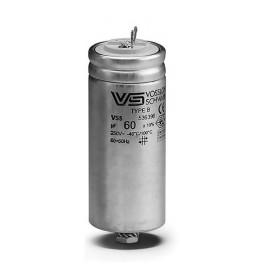 WTB 60 мкФ ±5% 420V d55 l128 M12x12 (Алюм. корпус/Wago/-40С...+100C) Конденсатор