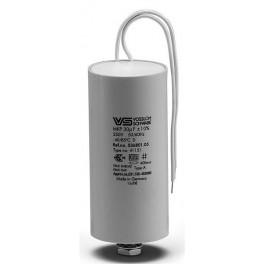 WTB 30 мкФ ±5% 250V d40 l95 M8x12 Пластик. корпус провода -25* +100* 150mm Конденсатор
