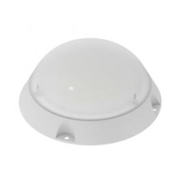 Светильник светодиодный LED ЖКХ 185х185х70 10Вт IP65 антивандальный круглый (диод 0.1Вт) VARTON V1-U0-00005-21000-650104