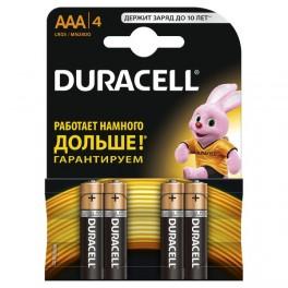 Элемент питания LR MN 2400/LR03 Basic BP-4 (блист.4шт) Duracell