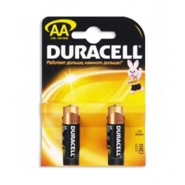 Элемент питания LR MN 1500/LR6 Basic BP2 (блист.2шт) Duracell