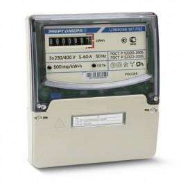 Счетчик ЦЭ-6803В 1 3ф 5-60А 230В 1 класс точн. 1 тариф. 4пр М7Р32 щиток или DIN-рейка Энергомера