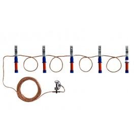 Заземление переносное ЗПЛ-1 Д для ВЛ до 1кВ 16кв.мм Диэлектрик