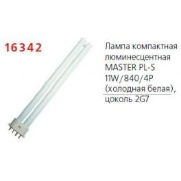 Лампа люминесцентная компакт. MASTER PL-S 11W/840/4P 1CT/5X10BOX Philips / 871150026122970