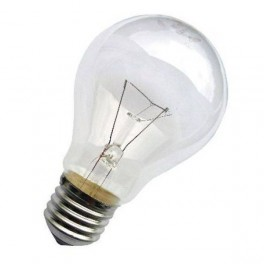 Лампа накаливания Б 75Вт E27 230-230В (верс.) Лисма