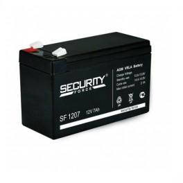 Батарея аккумуляторная 12В 7А.ч Security Force SF 1207