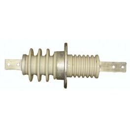 Изолятор проходной ИПУ-10/630-7.5 УХЛ1 (овал. фланец) Электрофарфор