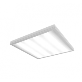 Светильник светодиодный LED 595х595х55 36Вт IP54 4000К медицинский встраив. с опаловым рассеив. VARTON V1-C0-00080-10000