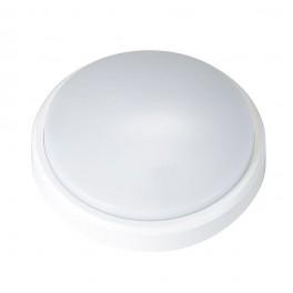 Светильник светодиодный (НПП)PBH-PC2-RA 8Вт 640Лм 4000К круглый IP65 AC 230В/50Гц бел.JazzWay