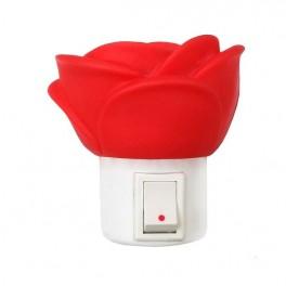 """Светильник светодиодный NL-172 """"Роза"""" ночник с выкл. 220В Camelion"""