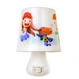 """Светильник светодиодный NL-174 """"Лампа"""" ночник с выкл. 220В Camelion"""