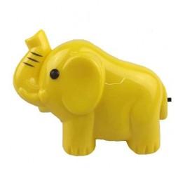 """Светильник NL-191 ночник с выкл. """"Слон желтый"""" 220В Camelion"""