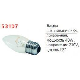 Лампа накаливания Stan 40Вт E27 230В B35 CL 1CT/10X10 Philips / 871150005669650
