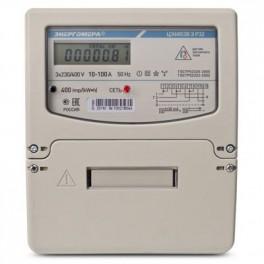 Счетчик ЦЭ-6803В 1 3ф 10-100А 230В 1 класс точн. 1 тариф. 4пр М7Р31 DIN-рейка Энергомера