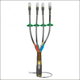 Муфта кабельная концевая наруж. уст. 1кВ КНТпН 4х(70-120мм) с наконеч. Нева-Транс