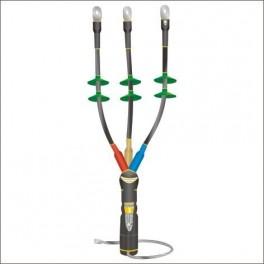 Муфта кабельная концевая наруж. уст. 10кВ КНТпН 3х(70-120мм) с наконеч. Нева-Транс