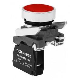 Выключатель кнопочный ВК21-ВА42 1р красный