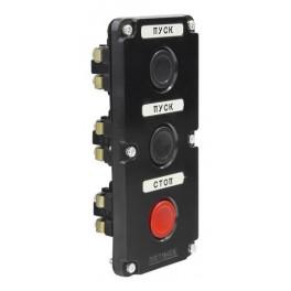 Пост кнопочный ПКЕ 112-3 У3 IP40 (карболит) ГОСТ