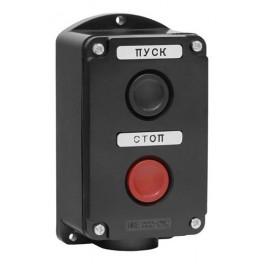Пост кнопочный ПКЕ 222-2 У2 IP54 (пластик)