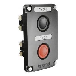 Пост кнопочный ПКЕ 122-2 У2 IP54 (карболит) ГОСТ