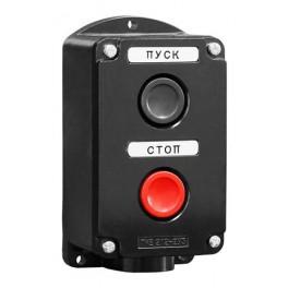 Пост кнопочный ПКЕ 212-2 У3 IP40 (пластик)