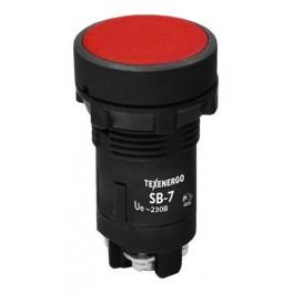 Кнопка SB-7 «Стоп» красный