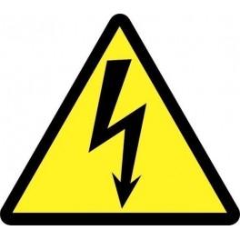 Самоклеящиеся знак Знак тр-ник'молния' 50мм 1лист 25шт. самоклеящаяся