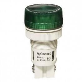 Сигнальная лампа ENR-22 зеленый 230В