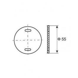 Бирка маркировочная У135 У3.5 (круг)