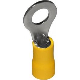 Наконечник кольцевой изолированный НКИ 6,0-6 жёлтый (100 шт.)