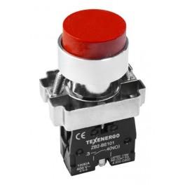 Кнопочный выключатель LAY5-BL41 красный 1з