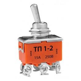 Тумблер ТП-1-2 15А 250В