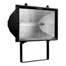 Прожектор галогенный ИО 1000Вт черный IP54