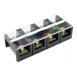 Блок зажимов ТС-604 (60А; 4 пары клемм)