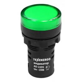 Арматура светосигнальная AD22DS 230В зеленая