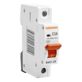 Выключатель автоматический ВА 4729 1п 16А С 6кА