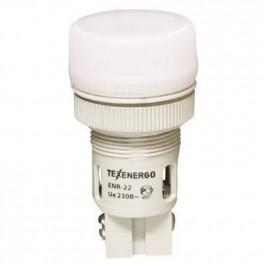 Сигнальная лампа ENR-22 белый 230В
