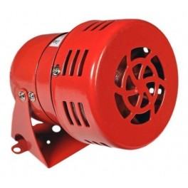 Сирена СС-1К 220В, АС метал. корпус, цвет красный