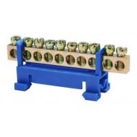 Низковольтная и высоковольтная аппаратура Шины нулевые и соединительные