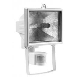 Прожектор галогенный ИО 150Вт Д с датчиком движения белый IP54