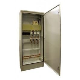 Инвентарное вводно-распределительное устройство ИВРУ-1-400 IP54 без э/счёт. , корпус1600х700(600)х300 мм (ручка рубильника внутри корпуса)