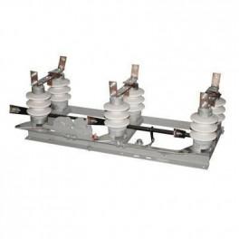 Высоковольтный разъединитель РЛНД-1-10-II/630 УХЛ1 привод ПРН3-10 УХЛ1 400мм